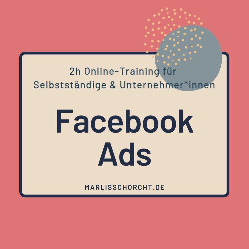Facebook Ads Online-Kurs