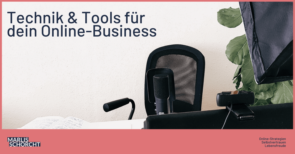 online-business-aufbau technik tools