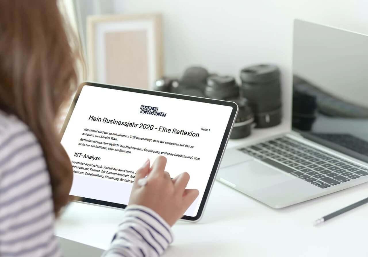 Business Jahresauswertung 2020